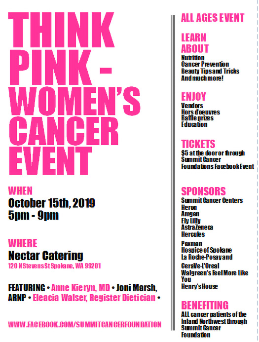 Think PINK Women's Cancer Event
